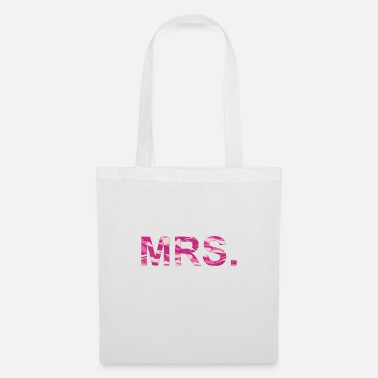 Hen Night Mrs Camouflage Pink pattern customizable - Tote Bag