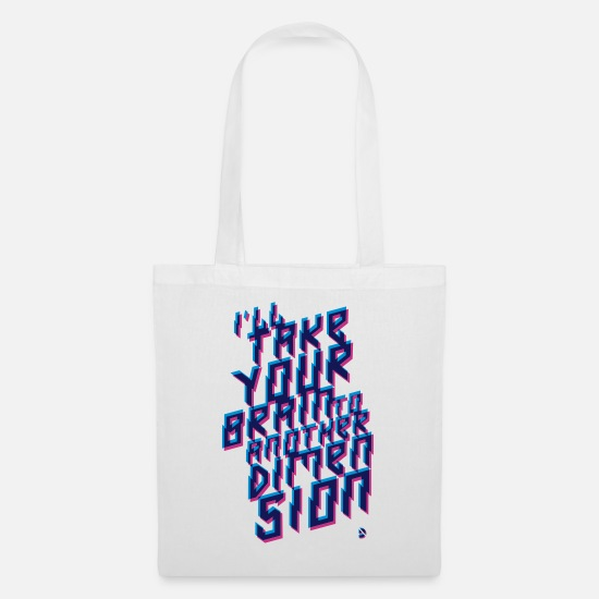 Collection Bags & Backpacks - AD Out of space - Tote Bag white