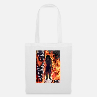 danger keep out - Tote Bag