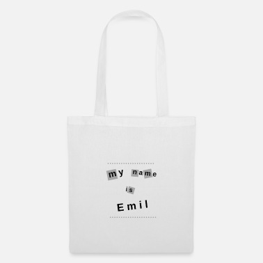 My Name Is my name is Emil - Tote Bag