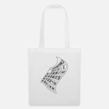 Secretary math calculator 3 - Tote Bag
