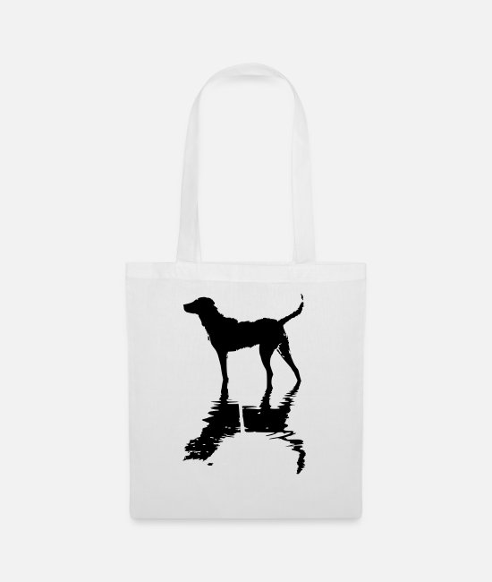 Nature Conservation Bags & Backpacks - Karla in the lake - Tote Bag white