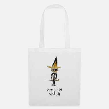 Born to be WITCH - Sac en tissu