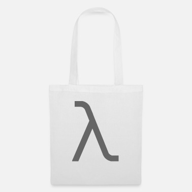 Lambda lambda gray1 - Tote Bag