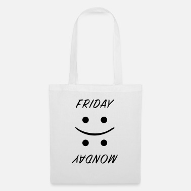 Friday vs. Monday - Tote Bag