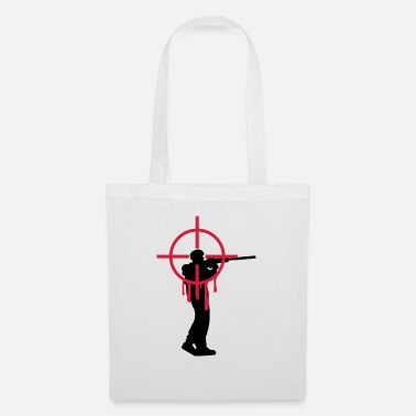 Shooting Headshot shooter sniper shoot bleed - Tote Bag