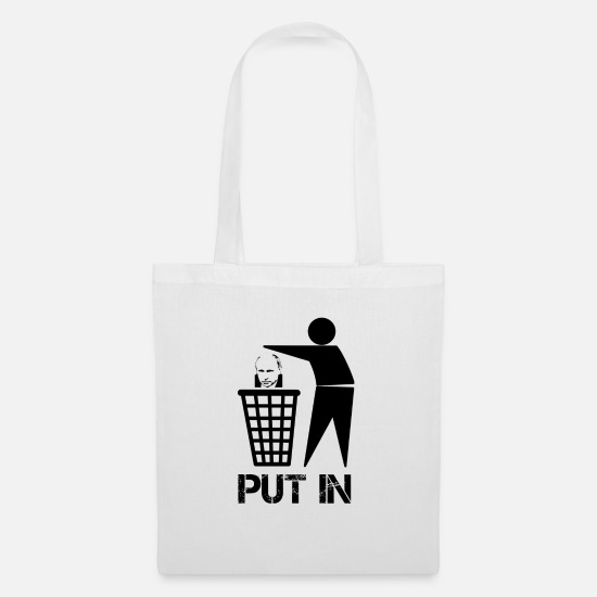 Putin Bags & Backpacks - Putin Russia - Tote Bag white