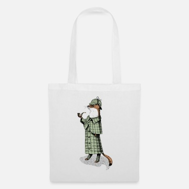 Autumn Stoat Detective - Tote Bag