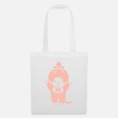 Chic-a-Boo Monchhichi pastel orange - Tote Bag