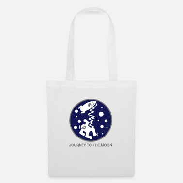 Journey Journey to the moon - Tote Bag