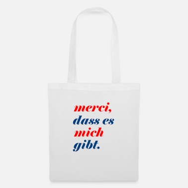 merci that there is me - Tote Bag