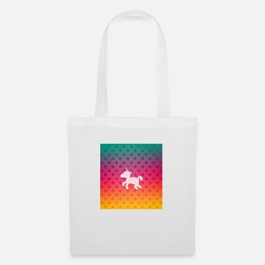 Sleeve Unicorn stars Pattern - Tote Bag
