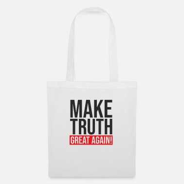 Muzzle Make Truth Great Again - conspiracy theorist - Tote Bag