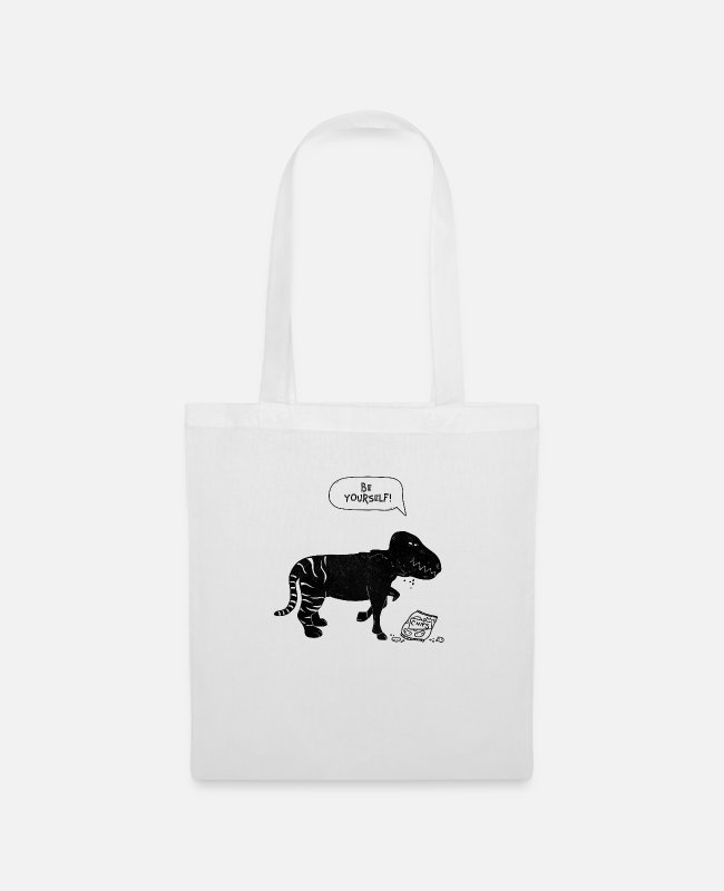 Love Bags & Backpacks - Be yourself a mythical creature - Tote Bag white
