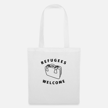 Refugees Welcome refugees welcome - Tote Bag