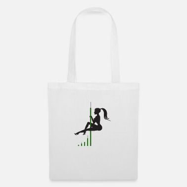 Bitcoin Candle Dance - Tote Bag