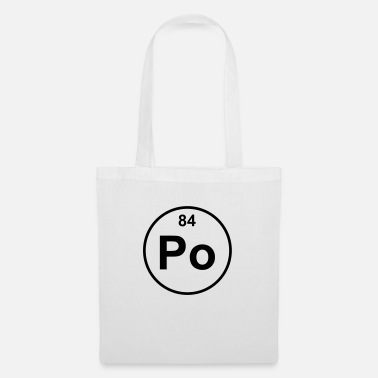Eighties Polonium (Po) (element 84) - Tote Bag
