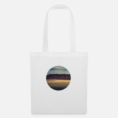 Scenic Landscape Trees Meadow Sky Scenic - Tote Bag