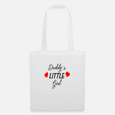 Girl Daddy's little girl - Daddy's little girl - there - Tote Bag