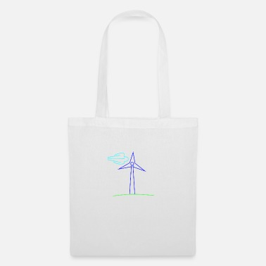 Wind Wind turbine - Tote Bag