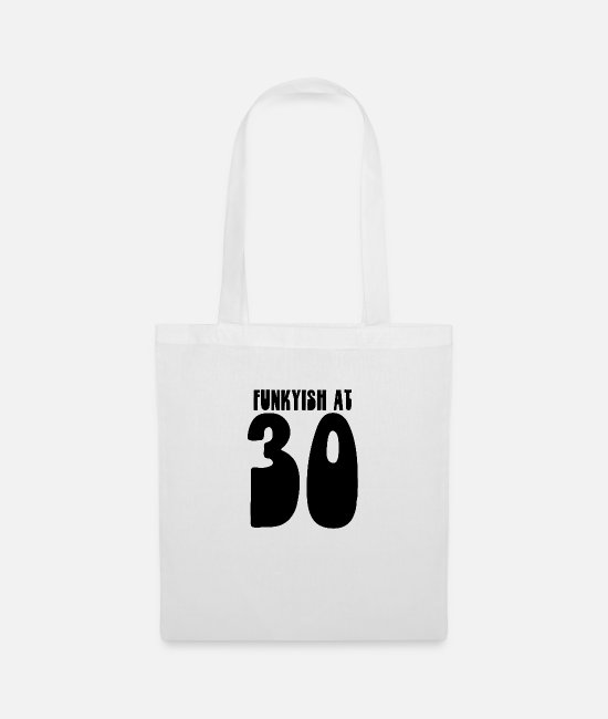 Birthday Bags & Backpacks - 30 - Tote Bag white