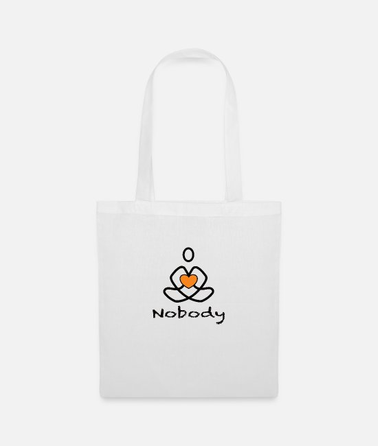 Love Bags & Backpacks - Nobody the Enlightened - Tote Bag white