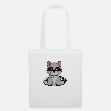 Toy Cuddly toy, raccoon, baby animals - Tote Bag