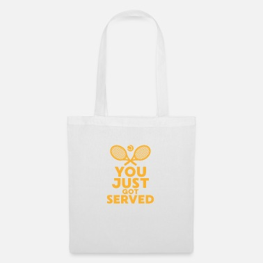 Wimbledon You just got served Tischtennis Tennis Geschenk - Stoffbeutel