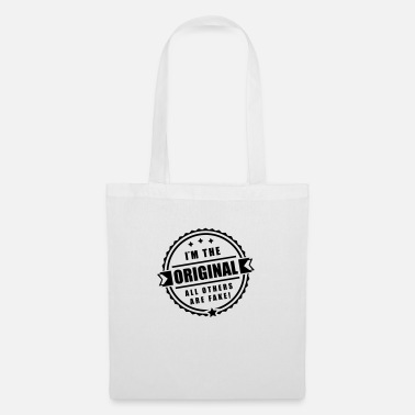 Cool im_original_others_are_fake_de1 - Tote Bag