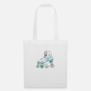 Inline Watercolor violet - Tote Bag
