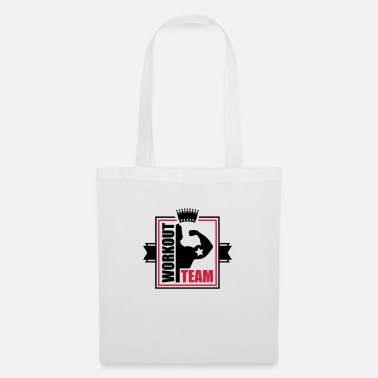 Weight Training workout_team_pe2 - Tote Bag