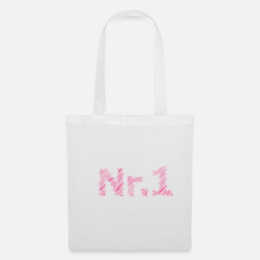 Jersey Number No 1 hatching vector - Tote Bag
