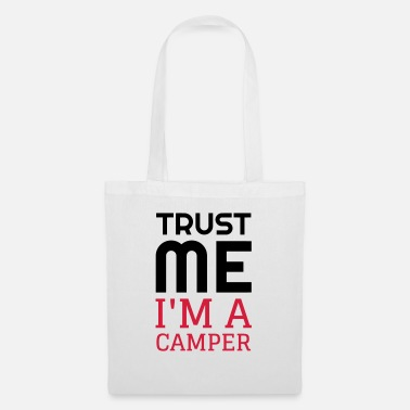 To Camp Camping / Camper / Campeur / Camp / Scout - Tote Bag