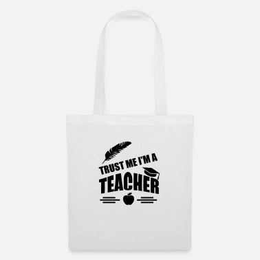 Theology trust me i m a teacher quote - Tote Bag