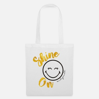 SmileyWorld Always shine on - Bolsa de tela