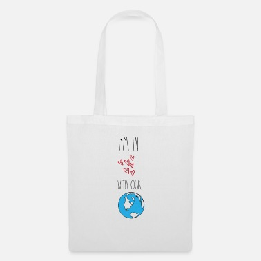 Teacher In love with our planet Earth environmentalists - Tote Bag