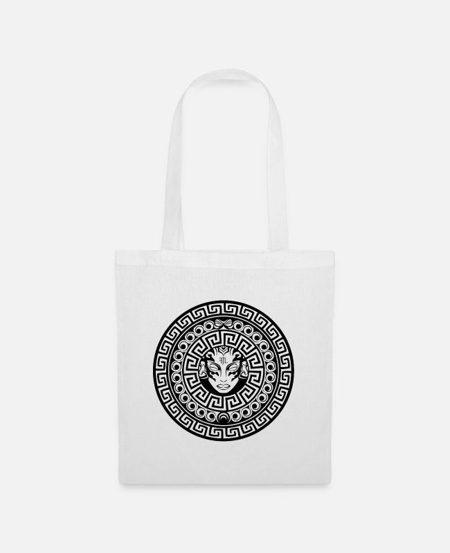 Greece Bags & Backpacks - Mosaic ornament - FJL - Tote Bag white