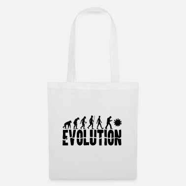 Development Of Mankind Evolution of Mankind (for light shirts) - Tote Bag