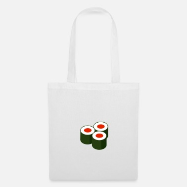 three rolls - sushi - Tote Bag