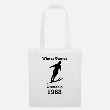 Winter Games winter games 1968 - Tote Bag