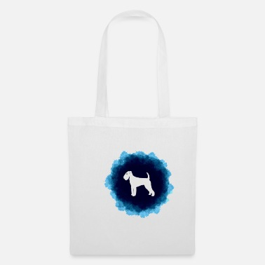Water Walking Airedale Terrier - Tote Bag