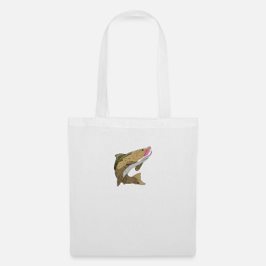 Trout Trout brown trout rainbow trout sea trout - Tote Bag