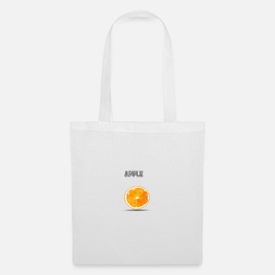 Drinking Bags & Backpacks - apple 3 - Tote Bag white