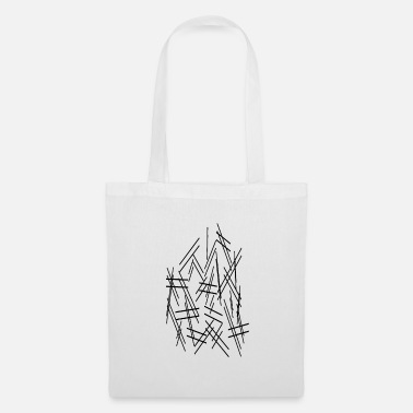 Dash Dashes lines - Tote Bag