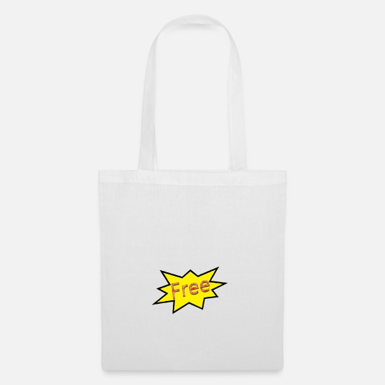 Free Hugs Bags & Backpacks - Free - Tote Bag white