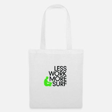 Officeworks Less Work, Surf More. - Tote Bag