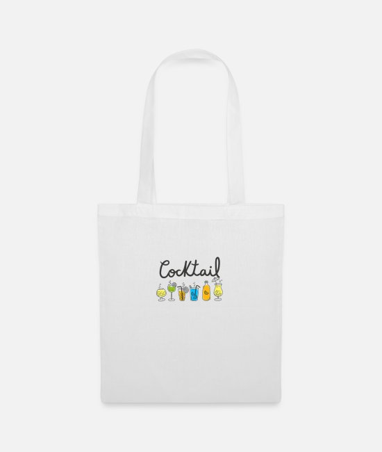 Cocktail Bags & Backpacks - Cocktail drinks alc - Tote Bag white