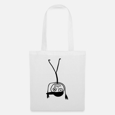 Kid In A Cap Handstand - Tote Bag