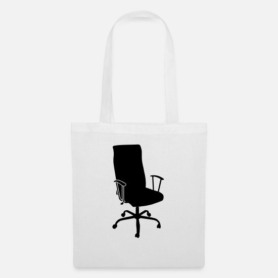 Office Bags & Backpacks - Office Chair - Tote Bag white