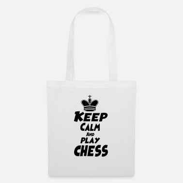 Keep Calm and play Chess - Tote Bag
